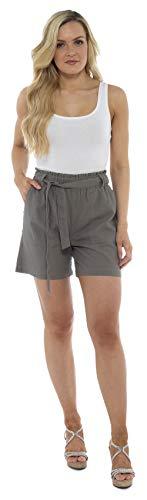 CityComfort Shorts Lino Mujer Mujeres Pantalones Cortos