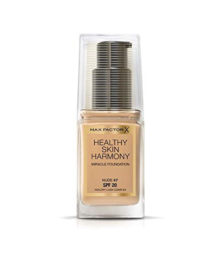 Max Factor Healthy Skin Harmony base, 30 ml, Sable doux 10 - Couleur Chair