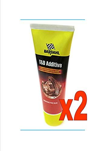 Bardahl T&D Additivi Trattamento Olio Cambio Trasmissioni e Differenziali 250 ML n. 2 flaconi