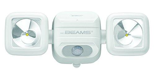 mrbeams batteriebetriebener LED Spot mbn3000Blanc avec Détecteur de Mouvement et pouvant être couplés