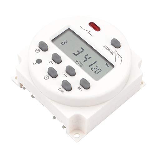 fish 12V / 24V / 110V / 220V Digital LCD-Anzeigezeit Schalter Wand Wöchentlicher programmierbaren elektronischen Timer 24v Wand