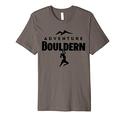Bouldern und Klettern T-Shirt Girls