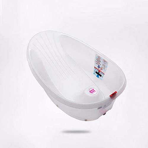 ltyg Neugeborene Badewanne Badewanne Badewanne kann sitzen und fühle Mich warm Baby Badewanne 64 * 40 * 24 cm