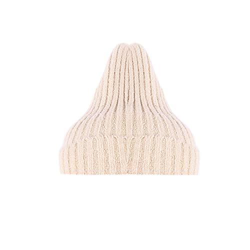 JMETRIC Damen Beanie Hat|Strickmütze|Grobstrick Strickmütze|Gestrickt Verdicken Wintermütze |Herbst und Winter warme Strick Twist Hat