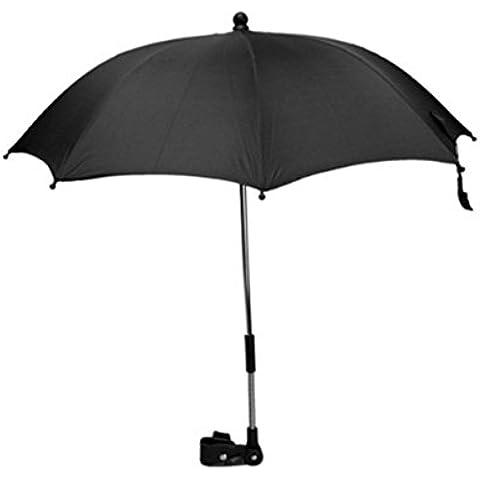 Baiter cochecito paraguas sombrilla de bebé cochecito de bebé cochecito BUGGY parasol sombrilla toldo con conector giratorio de soporte para paraguas soporte para cochecito de bebé