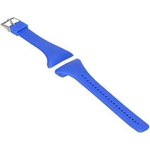 Reemplazo Correa de Reloj Pulsera de Silicona Banda para Polar FT4 FT7 FT Reloj - Azul