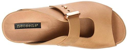 Neosens Damen S951 Restored Skin Wood Lairen Plateausandalen Beige (Wood)
