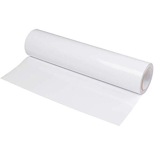 Transferpapier, 2M Weißes TPU Thermotransferfolie Vinyltransferfolie Transferfolie, Vinylfolie Plotterfolie Plotterfolie Textilvinylfolie Flexible Folie Bügelfolie Für Kleidung DIY-Kunst