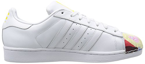 adidas Unisex – Adulto Superstar 1 Mr Sport Shell Toe Blanco / Azul oscuro