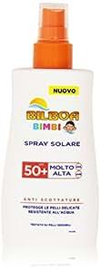 Bilboa - Spray Solare Bimbi, Protezione Molto Alta 50+ - 200 ml