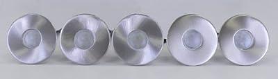 LED Einbaustrahler, 5er Set, IP44, 5cm DM, rund, weiß 10260 von Kiom - Lampenhans.de
