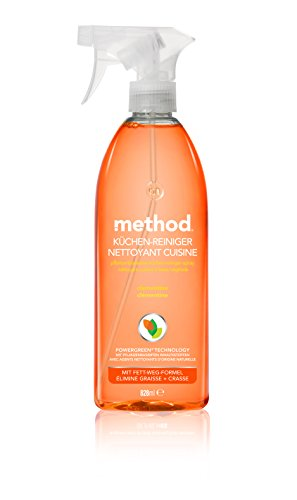 Preisvergleich Produktbild method Küchen-Reiniger Clementine, 4er Pack (4 x 828 ml)