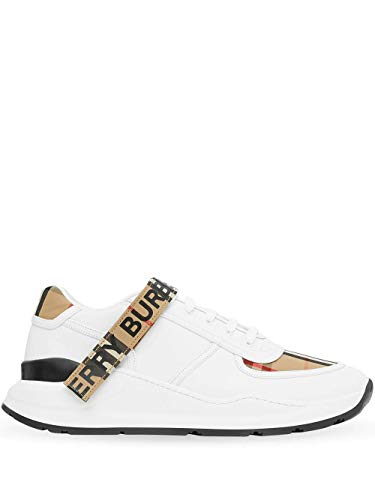 BURBERRY Luxury Fashion Herren 8024052 Weiss Sneakers | Frühling Sommer 20