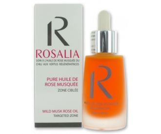 ROSALIA Huile de Rose Musquée 100% pure et naturelle - 30ml