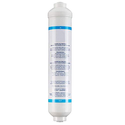 Spares2go - Cartucho de filtro de agua externo universal en línea para...