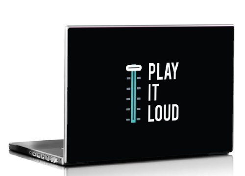 Seven Rays Play it Loud Laptop Skin  available at amazon for Rs.299