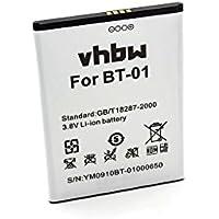 vhbw Li-Ion batería 2700mAh (3.8V) para teléfono móvil Smartphone THL T100, T100s, T11 por BT-01.