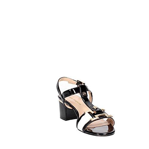 Laura Biagiotti 393 Sandalo Donna Nero/Bianco