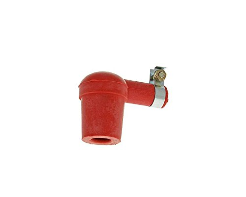 Spark Plug Socket Racing in silicone rosso