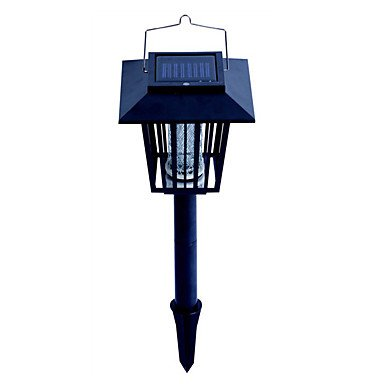 JOE/ Solar Powered repellente per zanzare Bug Zapper Pest Palo Killer Garden Lampada LED