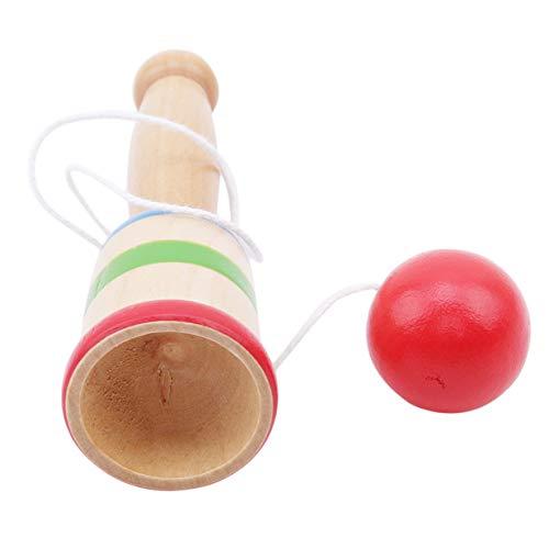 EJY Enfants Mini Ball et Coupe Jouets Attraper Jeu De Compétence Cadeaux Fabriqués À La Main en Bois Jouet