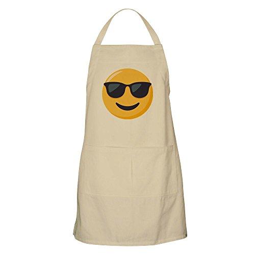 CafePress Sonnenbrille Emoji Grillschürze Khaki