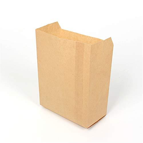 ten Papierbeutel Lebensmittelbeutel, Geschenktüten Kraftpapiertüten für Adventskalender Ostertüten Bastel Geschenke Backen Kuchen Brottüten Brote Keks verpacken ()