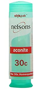 Nelsons Aconite 30c 84 Tablets (Case of 6)