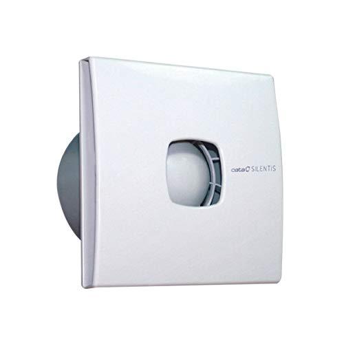 CATA SILENTIS 12 Blanco - Ventilador Blanco, Techo, Pared, De plástico, 39 dB, 2450 RPM, 190 m³/h...