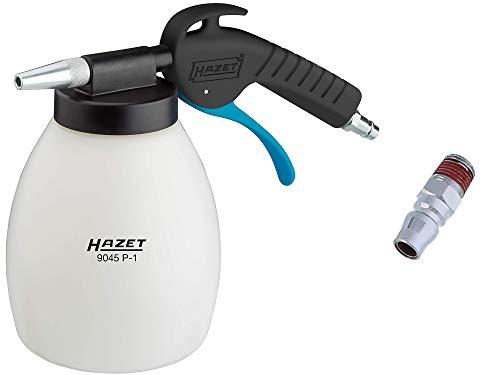 HAZET Soda Strahlpistole (für beschädigungsfreies Reinigen und Entlacken, Betriebsdruck: 6 bar, ergonomischer Handgriff mit optimierter Übersetzung) 9045P-1
