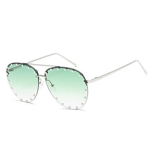 ANSKT Brillenmode Sonnenbrillen Sonnenfrauen Polarized Sunglasses-Green