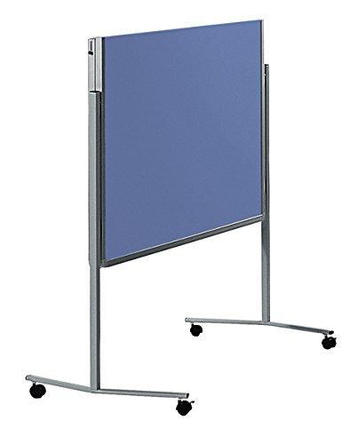 Preisvergleich Produktbild Legamaster 7-205200 Moderationswand Premium klappbar mobil 120 x 150 cm, Filz, blaugrau