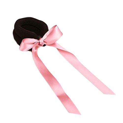 Lot de 2 Magic Beauty Ponytail Bun Maker Coiffure Chignon avec ceinture, No.1