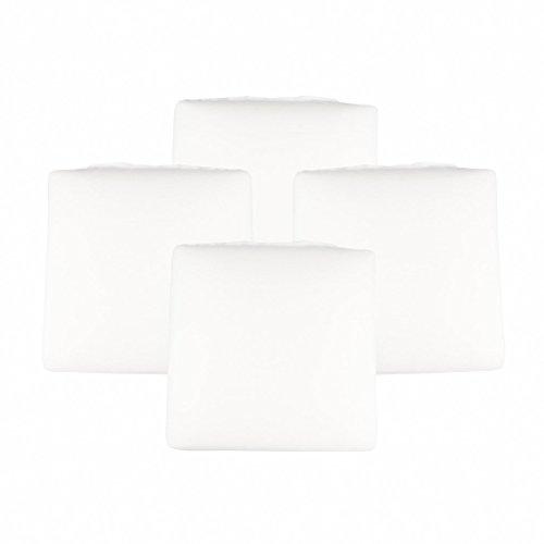The White Willow mousse à mémoire oreiller polyester blanc pondéré couverture légère douce chambre de cousin Décoration d'intérieur cadeau 16 \\