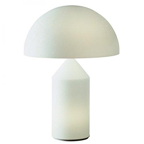Lámpara de mesa Oluce Atollo - Opal glass, 237
