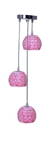Lighting Era Crystal Marble Balls Hanging Light (Warm White, 5W)