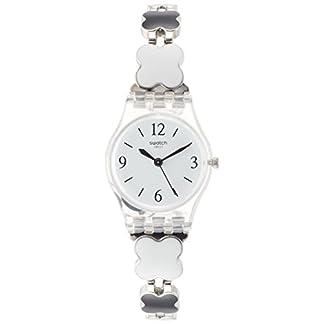Swatch Reloj Digital de Cuarzo para Mujer con Correa de Acero Inoxidable – LK367G