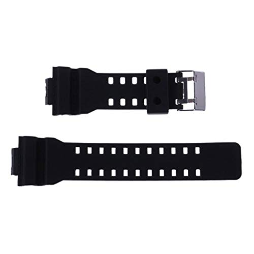 Chenguld 16 mm Rubbers Watchbands Men Black Sport Diving Silicones Watch Strap for G-Shock