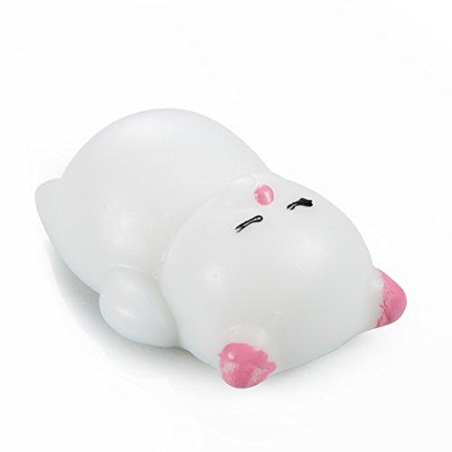 Cute Squeeze Bambola Alfort Squeeze Guarigione Divertente Giocattolo Stress Reliever Decor ( Panda ) Orso bianco
