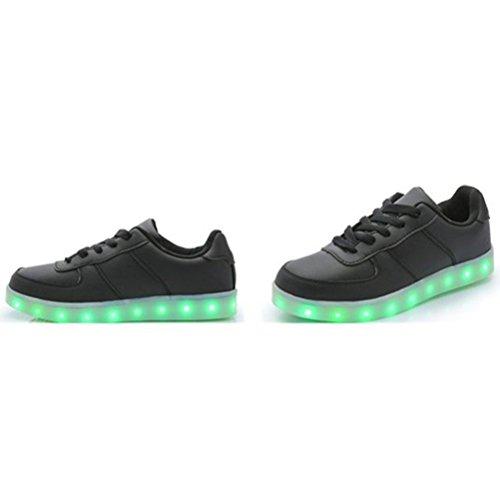 Star American Led present junglest® Schuhe Leuchten Lade Flagge Freizeitschuhe Luminous kleines Handtuch Unisex Usb Männer Frauen C34 Glow 66O8Uwq