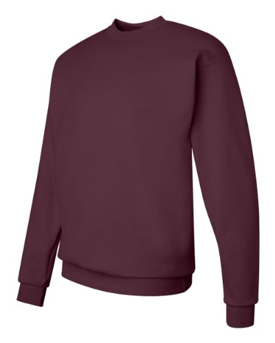 Hanes Comfortblend Long Sleeve Crew Fleece Maroon