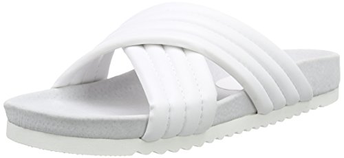 P1 - 120004, Sandali Donna Bianco (Bianco)