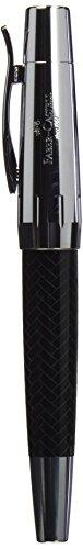 Faber-Castell 148242 E-motion – Pluma de resina (trazo EF), color negro