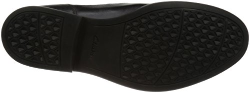 Clarks Beckfield Walk, Scarpe Stringate Uomo Nero (Black Leather)