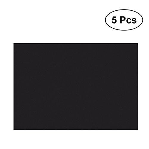 ROSENICE Magnetplatten selbstklebend Magnetfolie A4 5 Stücke