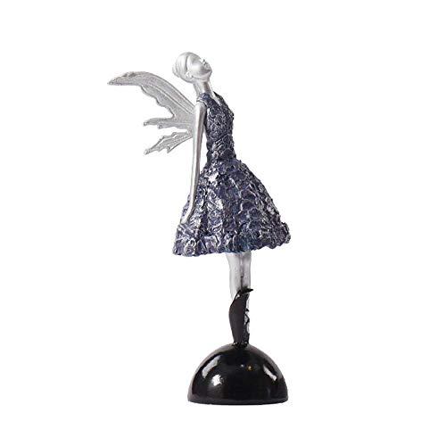 QiXian-Craft Europäische Harz Ballett Weibliche Ornament Kreative Hause Weichen Dekorativen Handwerk Wohnzimmer Persönlichkeit Kleine Schmuck, a, Einheitsgröße