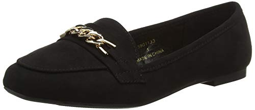 New Look Wide Foot Jain, Ballerines Bout fermé Femme