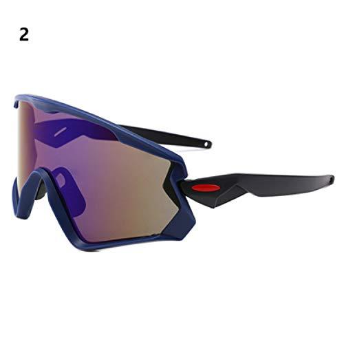 ZKAMUYLC SonnenbrilleUV400 Radfahren laufende Brille Sonnenbrille Männer Frauen Fahrrad Im Freien Mountainbike Bicicleta Sport Eyewear