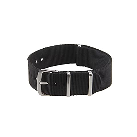 Possbay Sport Watch Band Army Military Wrist Canvas Nylon Band Strap Belt Multi Color 18mm 20mm 22mm for Men Women