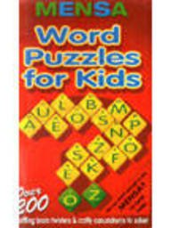 Mensa word puzzles for kids